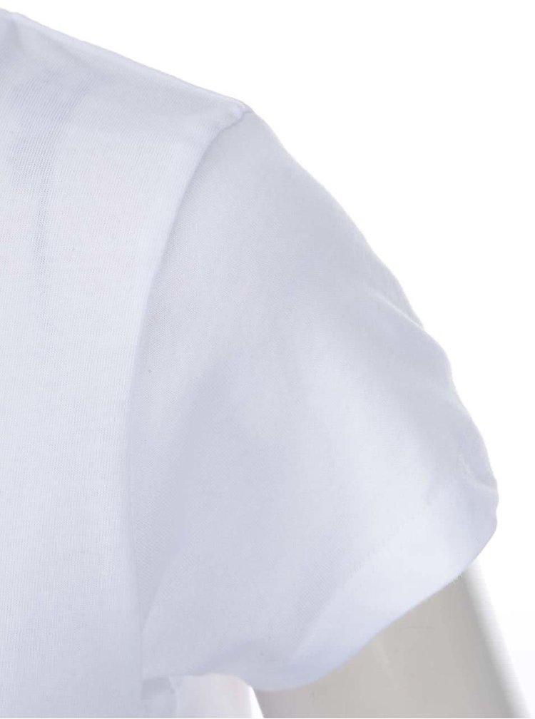 """""""Dobré"""" biele dámske tričko pre OPU a UNHCR"""