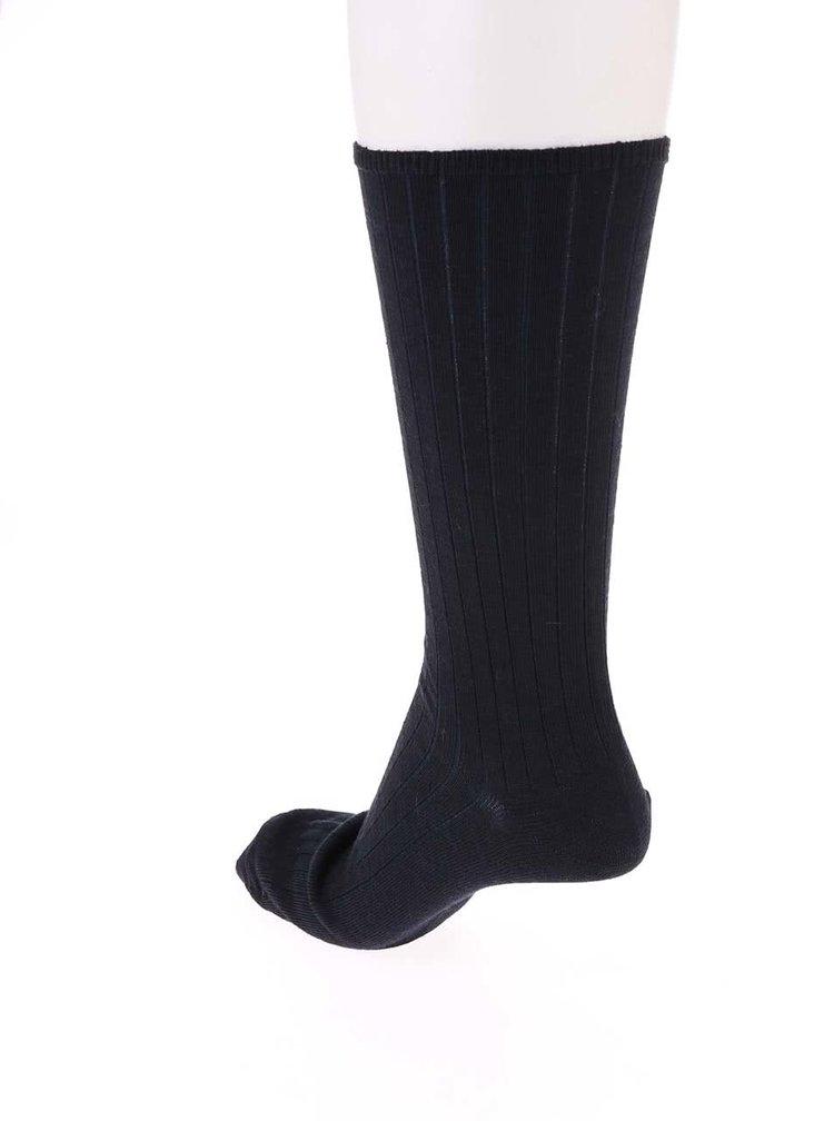 Șosete de lână bleumarin CLAUDIO