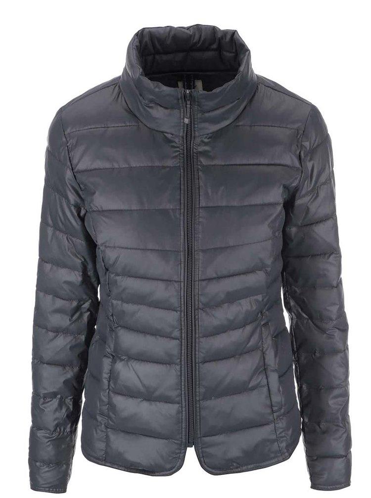 Jachetă gri închis matlasată ONLY Tahoe