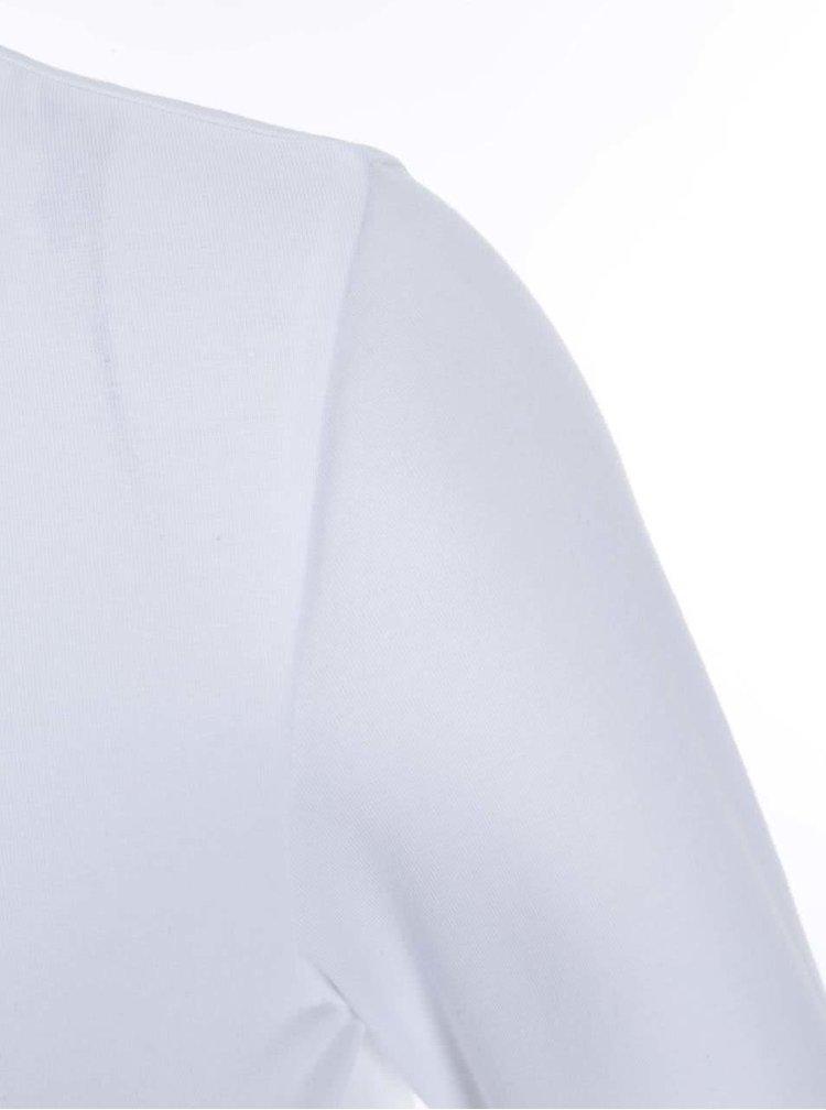 Bluză cu mânecă 3/4 albă ONLY Live Love
