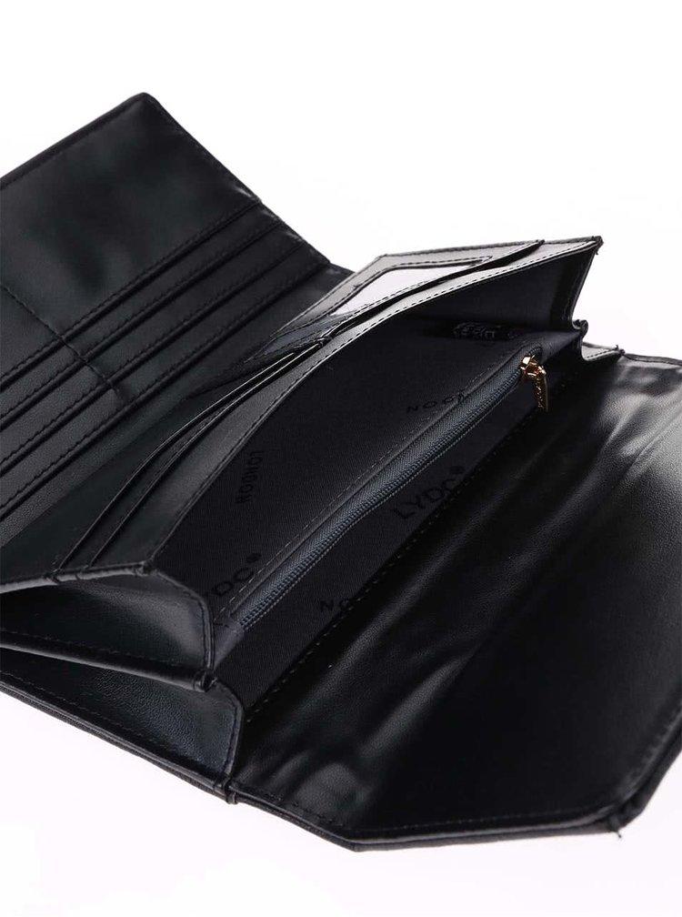 Béžová prešívaná peňaženka LYDC
