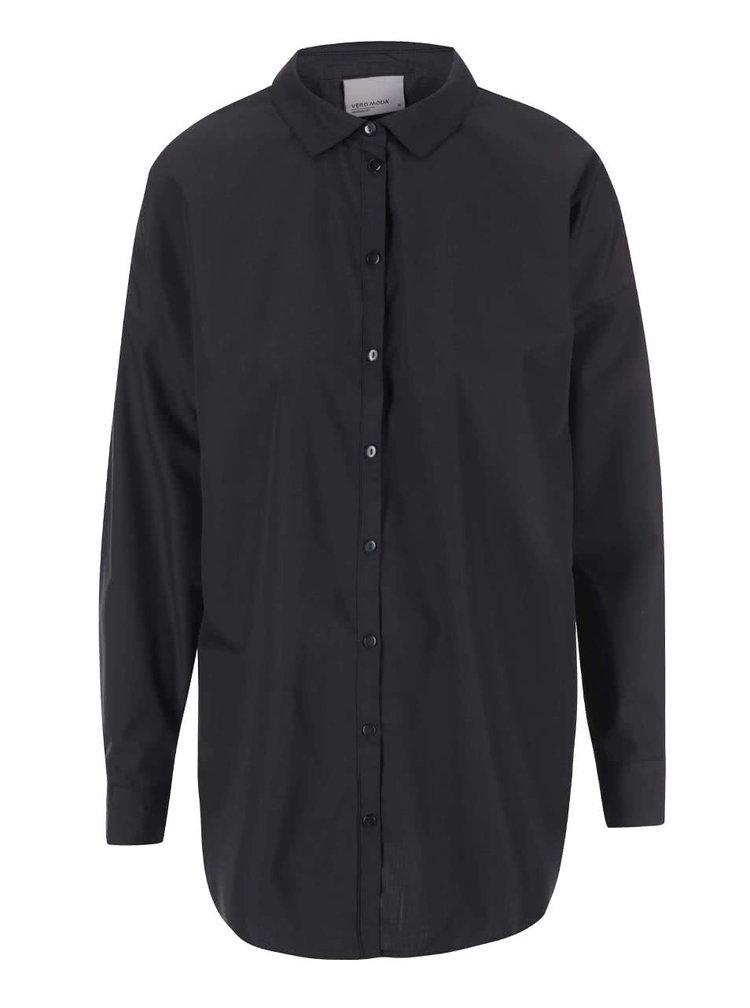 Bluză neagră lejeră VERO MODA Vega