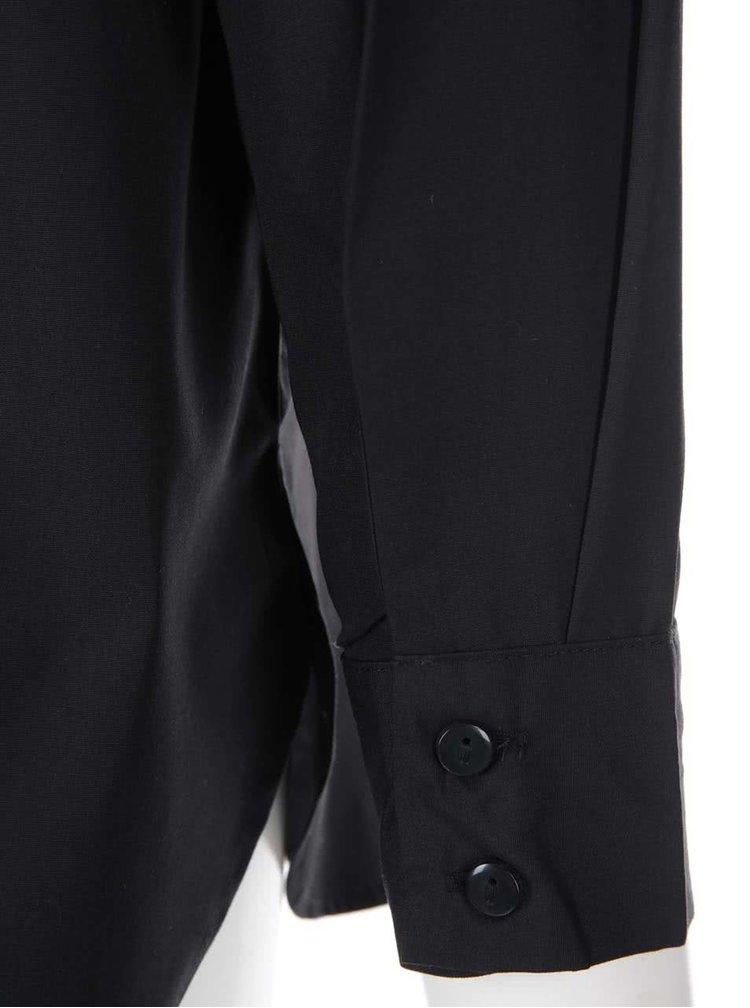 Černá volná košile VERO MODA Vega