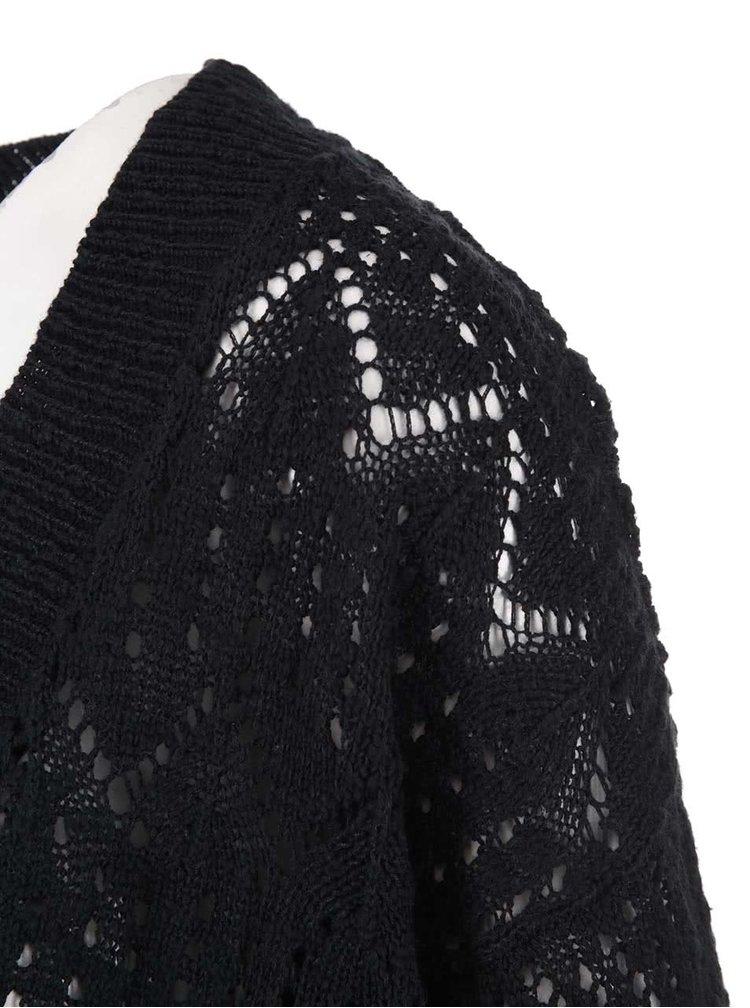 Cardigan negru cu mâneci 3/4 de la VERO MODA Mally