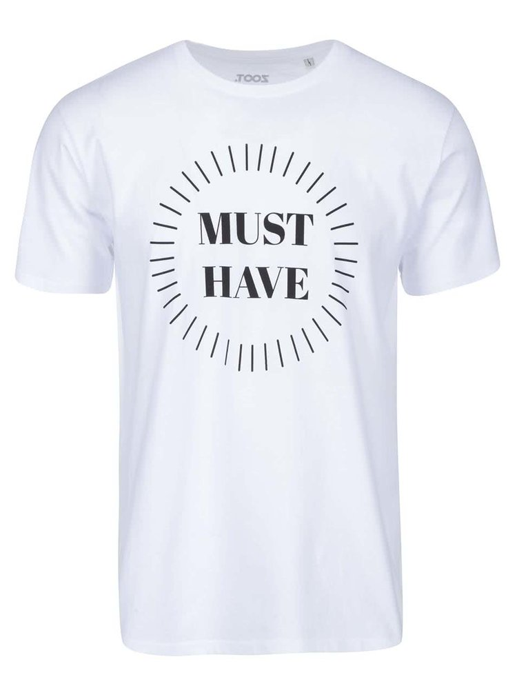 Biele pánske tričko ZOOT Originál Must Have