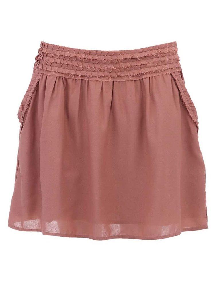 Růžová krátká sukně Scotch & Soda