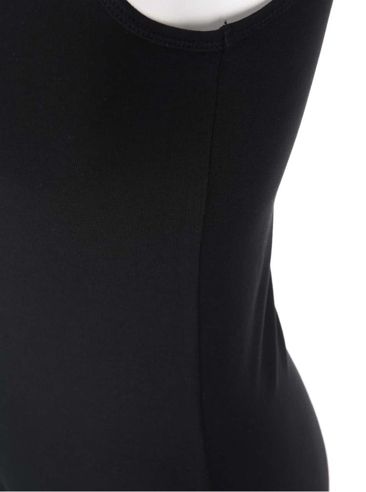 Černé tílko s krajkou ONLY Long Lace