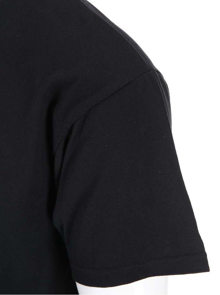 Černé unisex tričko ZOOT Štěstí