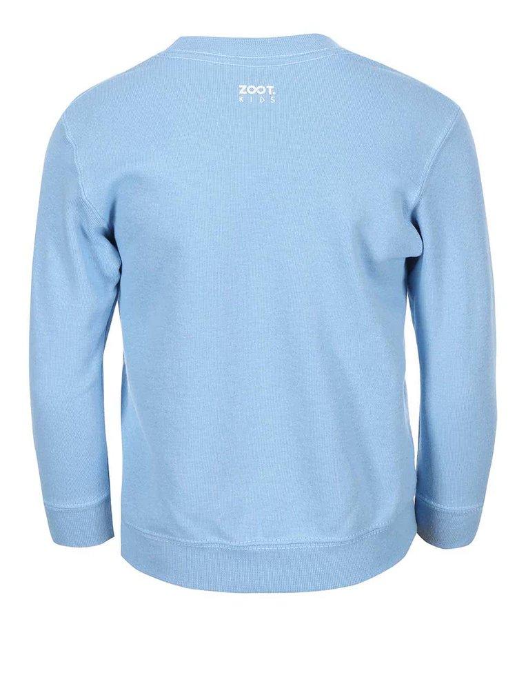 Bluză ZOOT Kids albastră deschis pentru copii cu model