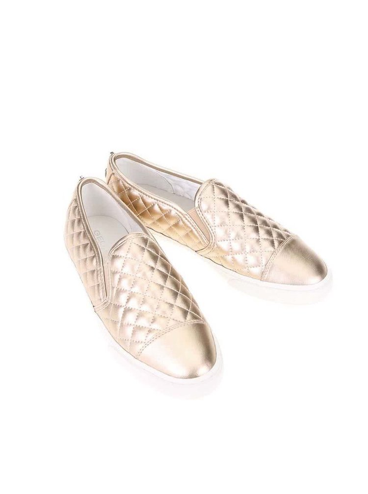 Pantofi slip on de damă GEOX New Club bronz