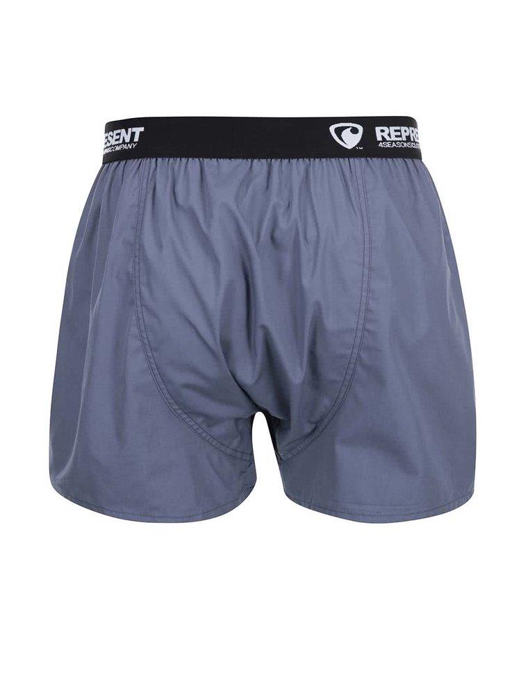 Boxeri Represent Mikebox gri