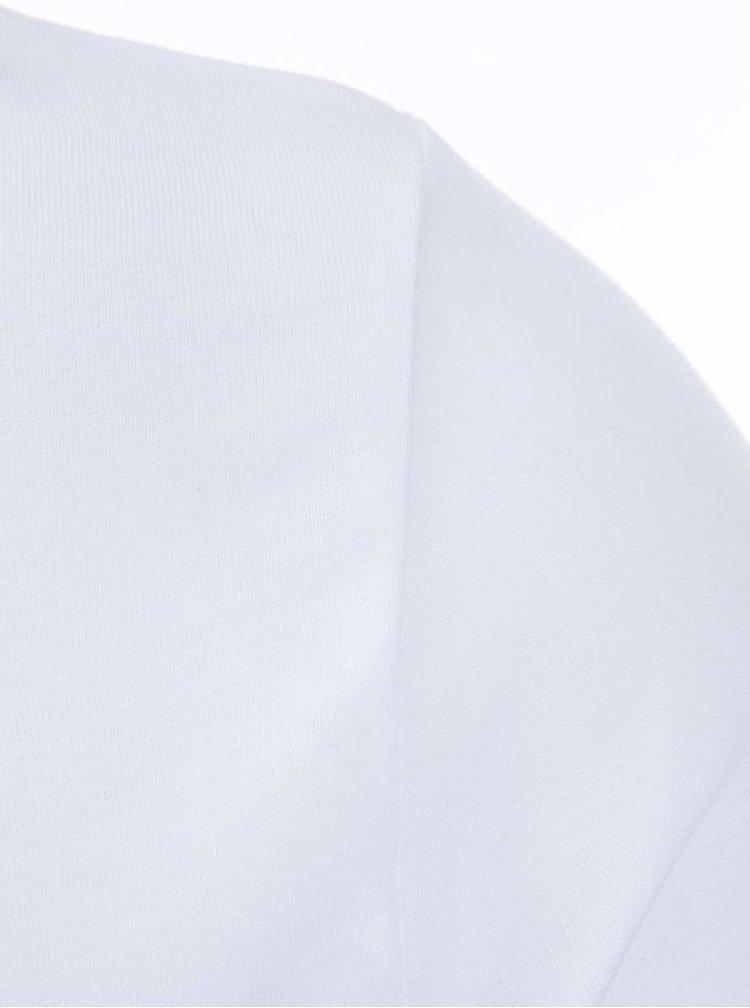 Biele pánske tričko ZOOT Lokál Survived Erasmus in Prague