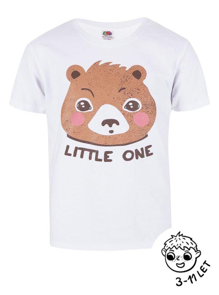 Biele chlapčenské tričko ZOOT Kids Little one