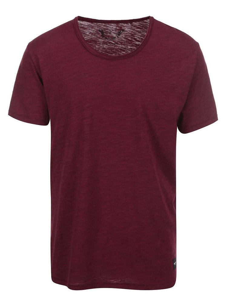 Tricou bordo ONLY & SONS Albert din bumbac
