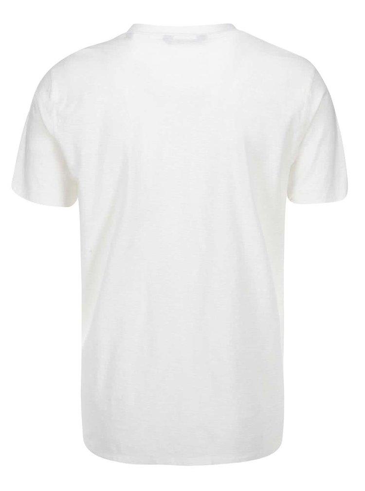 Krémové triko ONLY & SONS Ilo