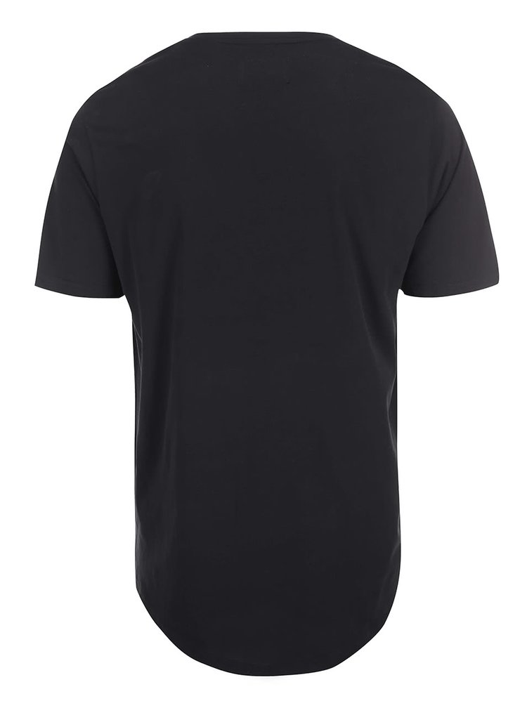Tricou negru ONLY & SONS Curved
