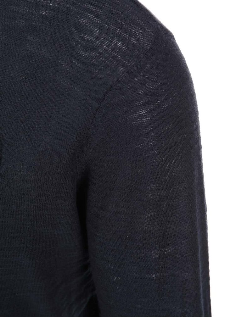 Modrý žíhaný sveter ONLY & SONS Ian