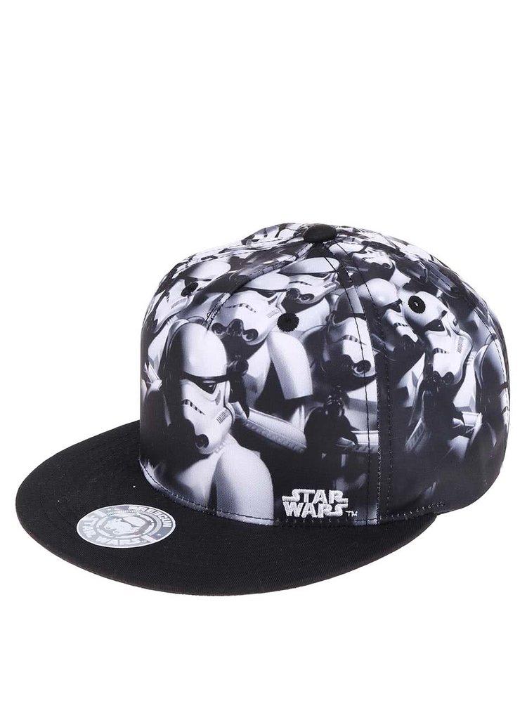 Vzorovaná kšiltovka s černým kšiltem Star Wars Freegun