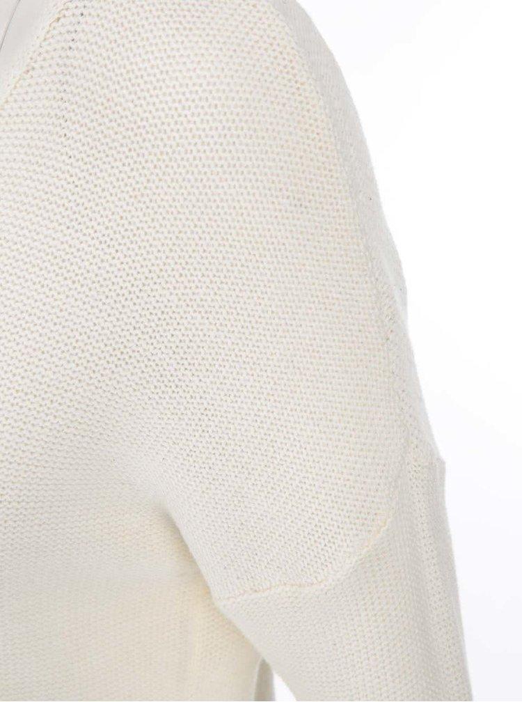 Krémový sveter VILA Snip