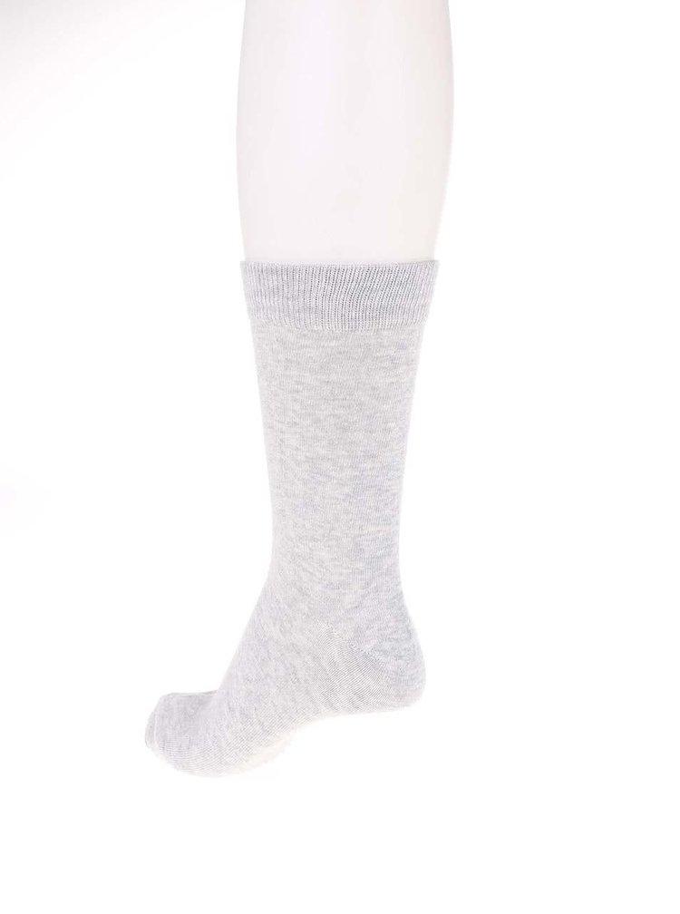 Světle šedé ponožky Jack & Jones Base