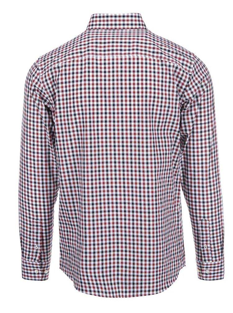 Červeno-modrá kockovaná košeľa Jack & Jones Oscar