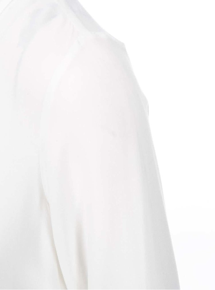 Bílý top s 3/4 rukávem VERO MODA Boca