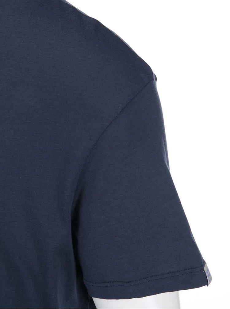 Tmavě modré triko Jack & Jones Circle