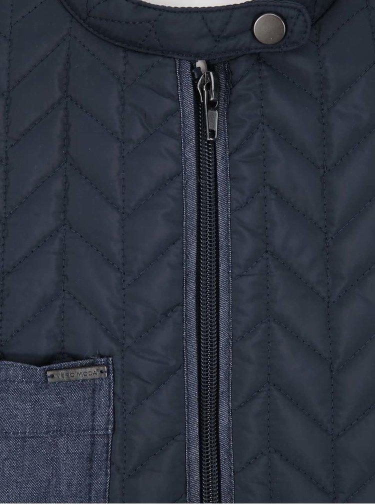 Jachetă matlasată bleumarin VERO MODA Arrow