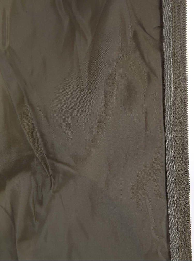 Zelená prešívaná bunda VERO MODA Arrow