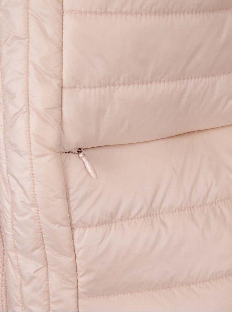 Jachetă roz deschis matlasată VERO MODA Fanna