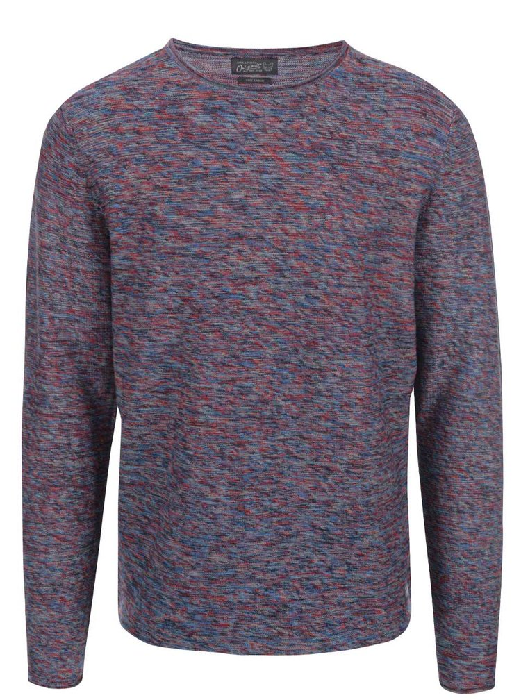 Farebný melírovaný sveter Jack & Jones Multi