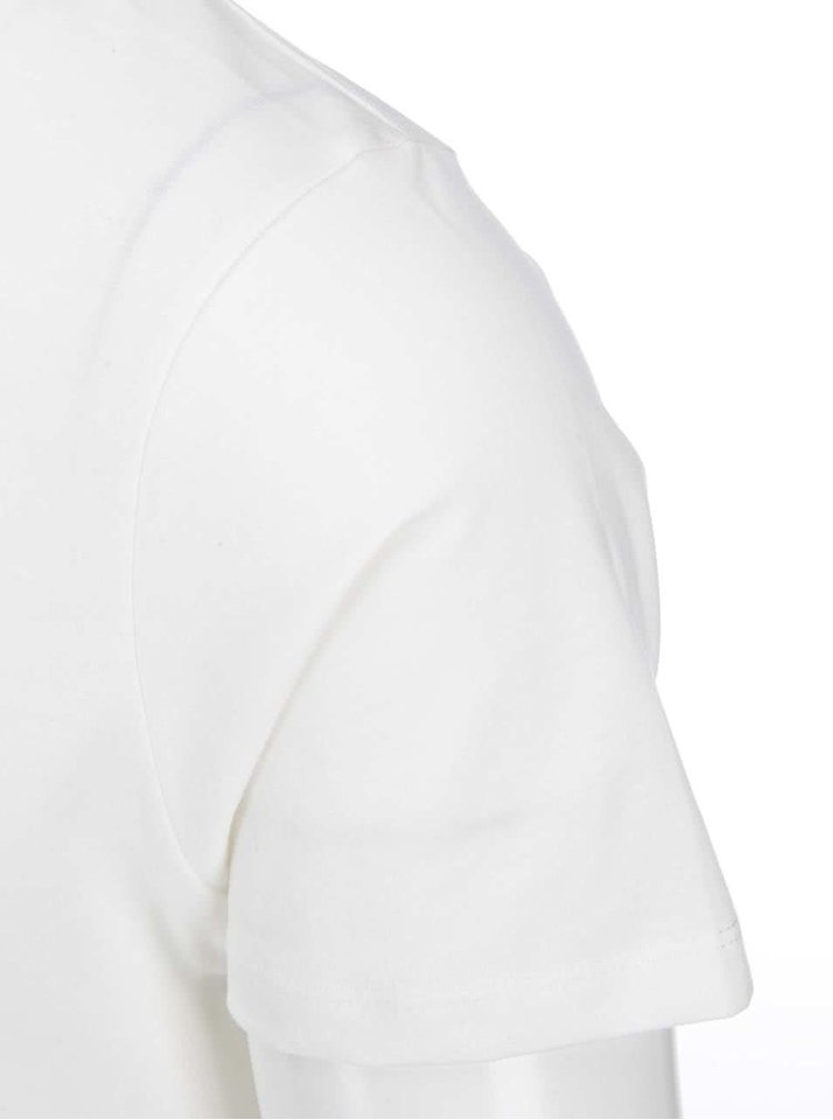Krémové triko s vintage potiskem Jack & Jones Run