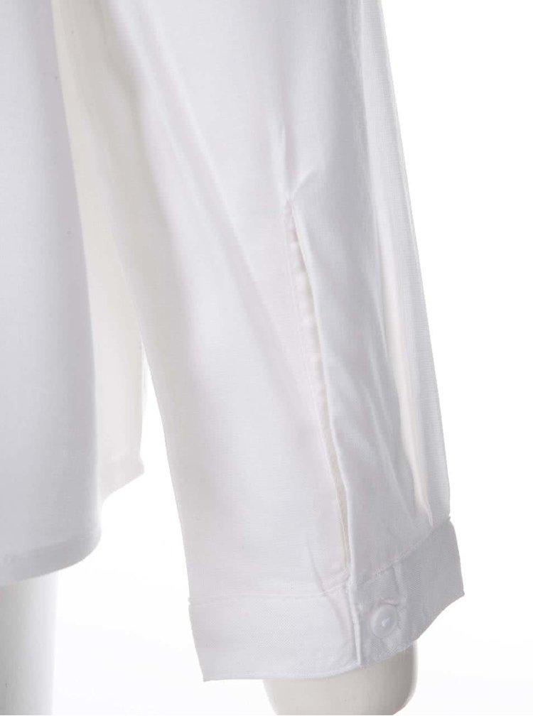 Biela blúzka s dlhým rukávom VERO MODA Luca