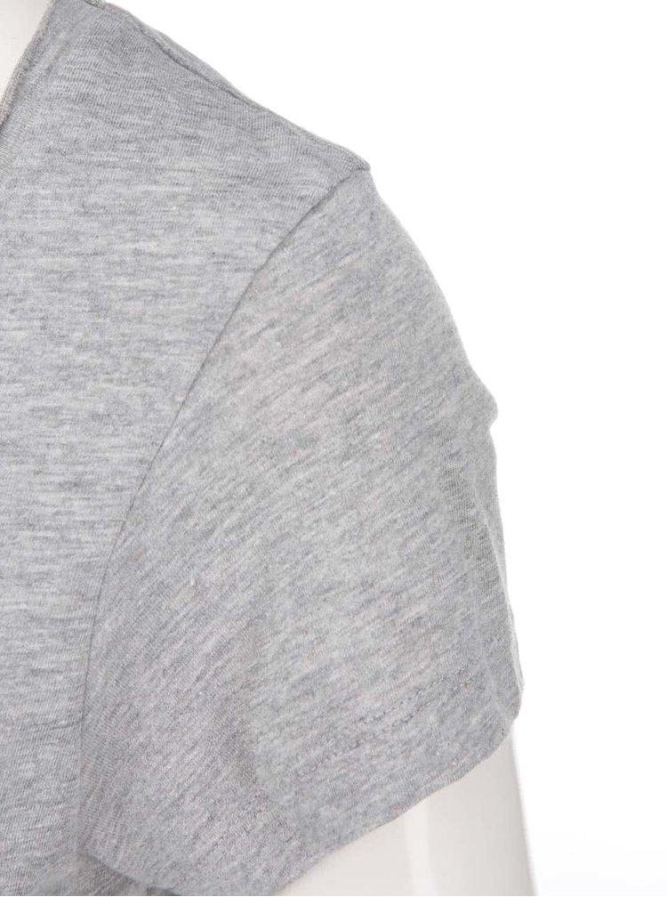 Sivý top s asymetrickým chrbtom Noisy May Mono