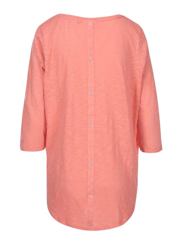 Sýtoružové tričko s 3/4 rukávmi ONLY Casa