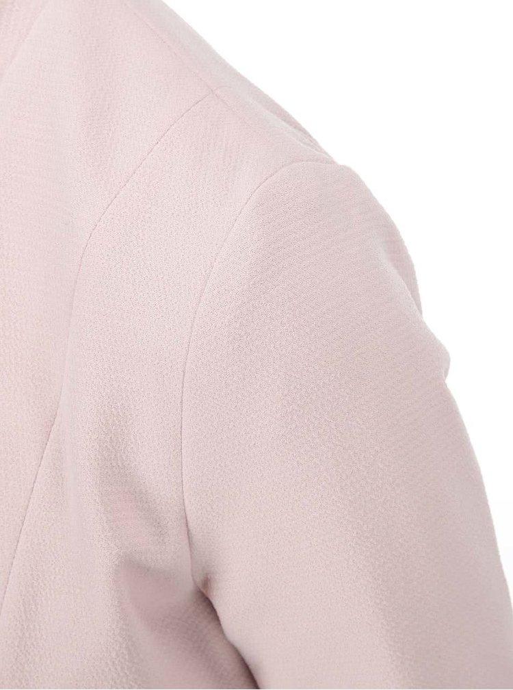 Blazer roz deschis ONLY Madeline