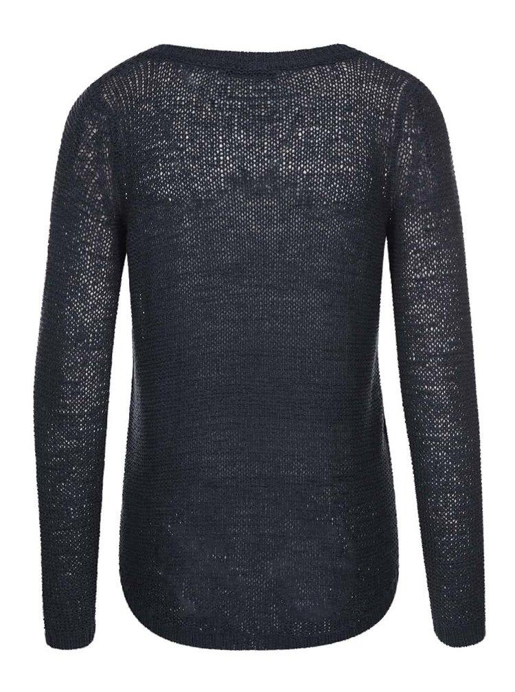 Pulover bleumarin tricotat ONLY Geena
