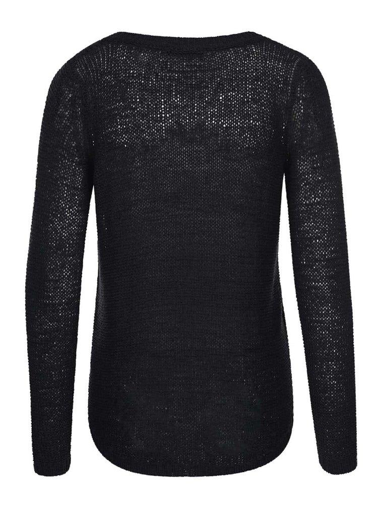Černý pletený svetr ONLY Geena