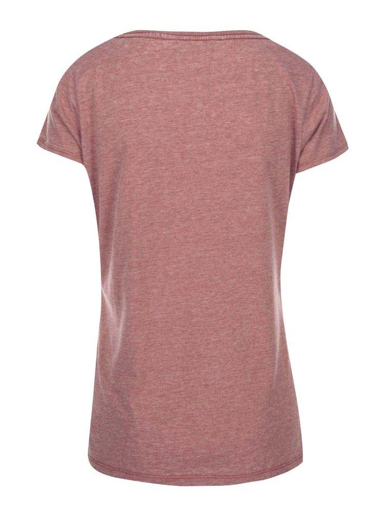 Cihlové tričko ONLY Truly