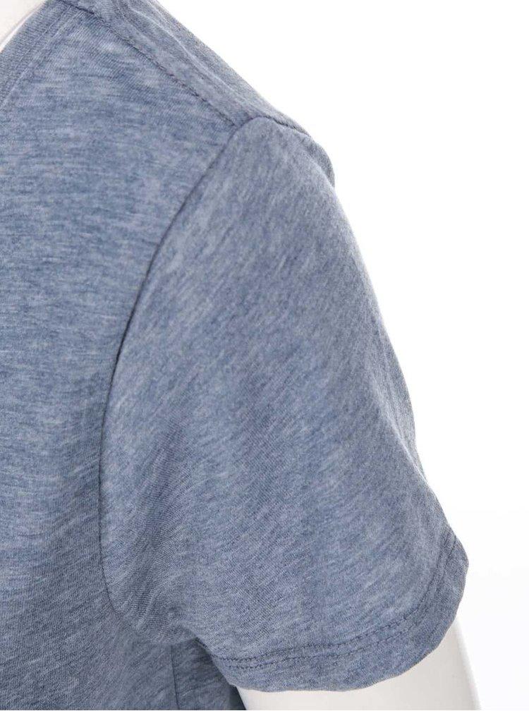Tricou ONLY Truly albastru-gri