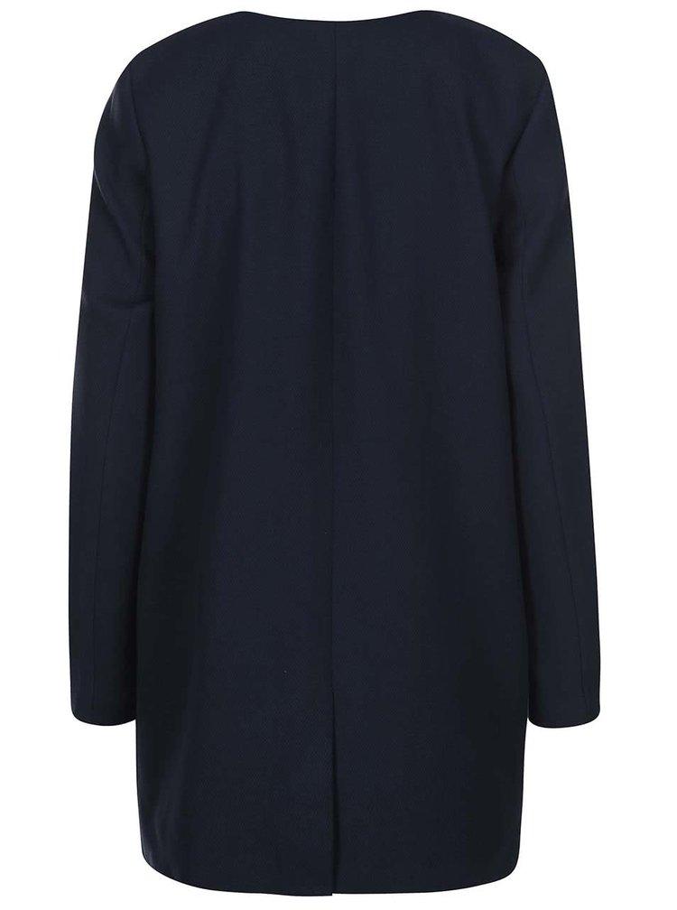Tmavě modrý lehký kabát ONLY Sidney