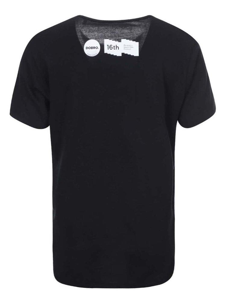 """""""Dobré"""" černé unisex triko pro Mezipatra Boys"""