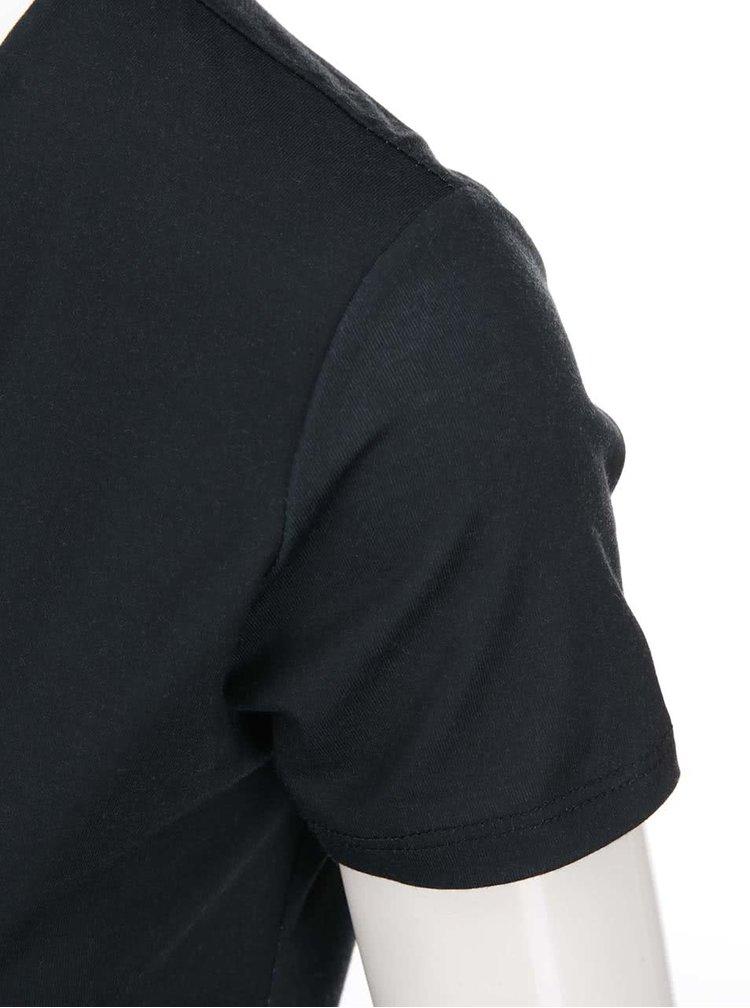 Bílo-modro-černé šaty Desigual Karlie