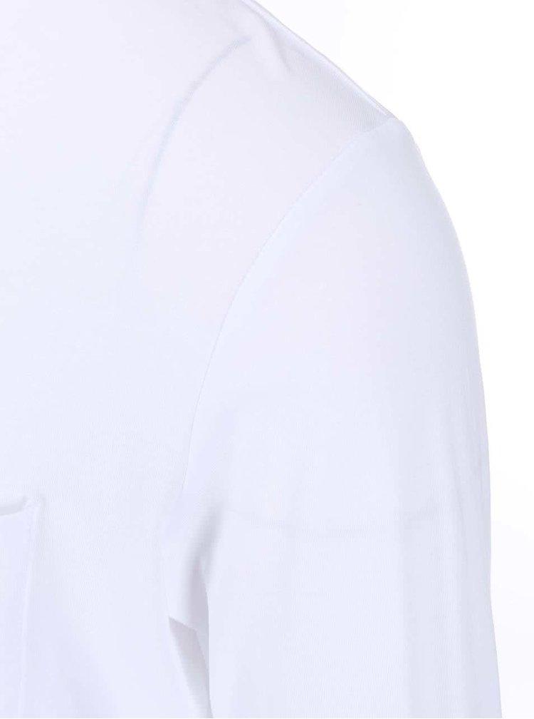 Bluză albă cu mânecă lungă Selected Homme Pima Florence