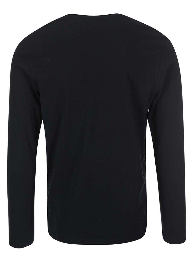 Bluză neagră bărbătească Selected Homme Pima Florence