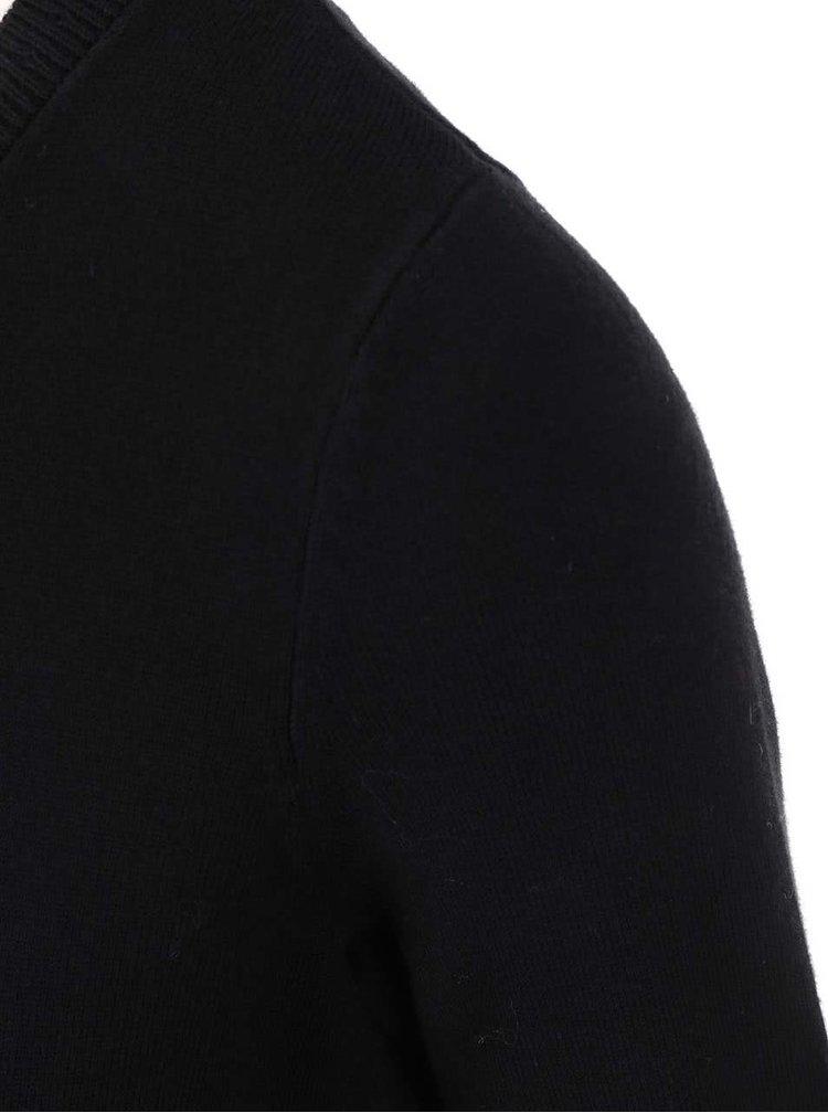 Černý propínací svetr Dorothy Perkins