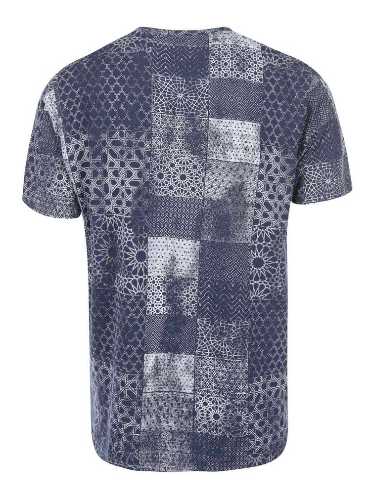 Tricou cu imprimeu albastru ONLY & SONS Maltin