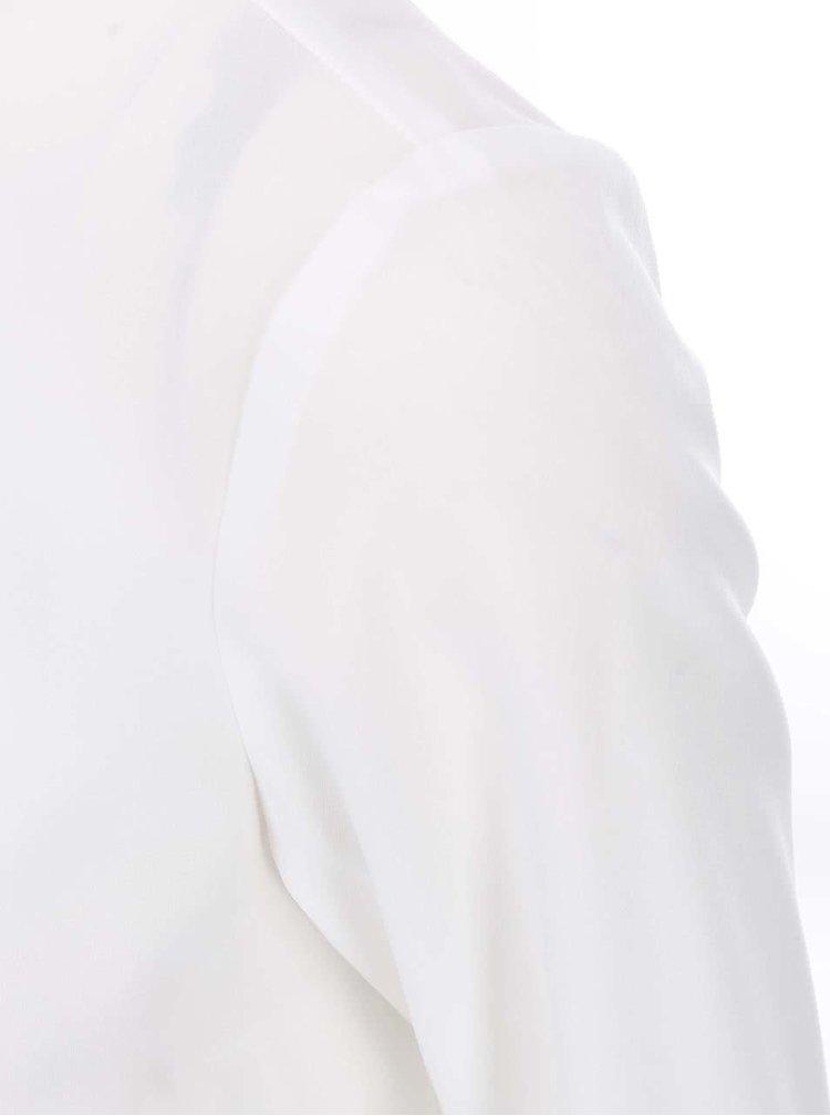 Biela blúzka s čiernou stuhou VERO MODA Golly