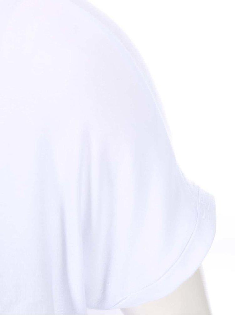Tricou alb cu imprimeu VERO MODA Didie
