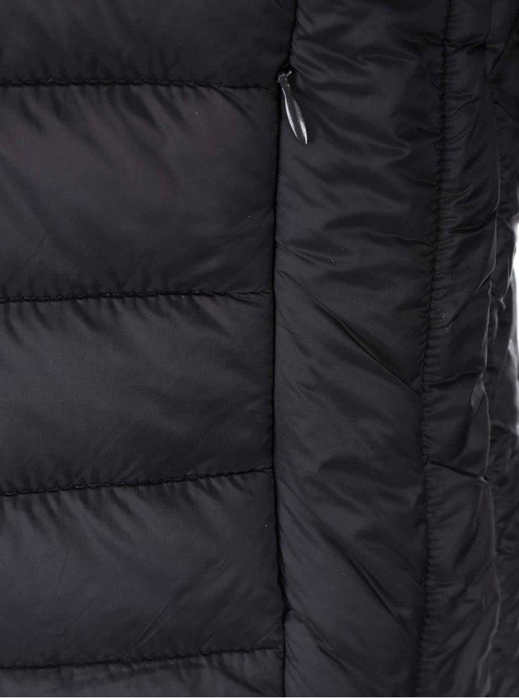 Jachetă matlasată neagră Blend